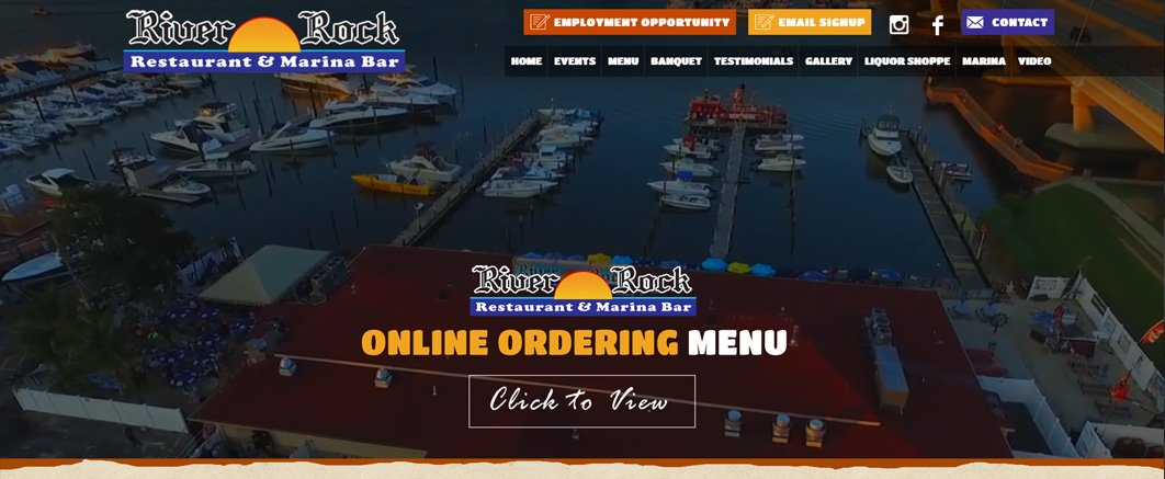 restaurant websites design and development by NJYP.com